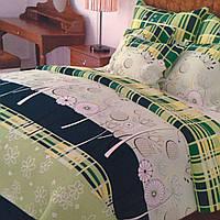 Комплект постельного белья полуторный 150/210 см, нав-ки 70/70, ткань сатин, 100% состоит из хлопка