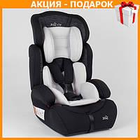 Детское автокресло с бустером JOY 70075 автомобильное кресло от 9 - 36 кг, от 1 - 12 лет черное