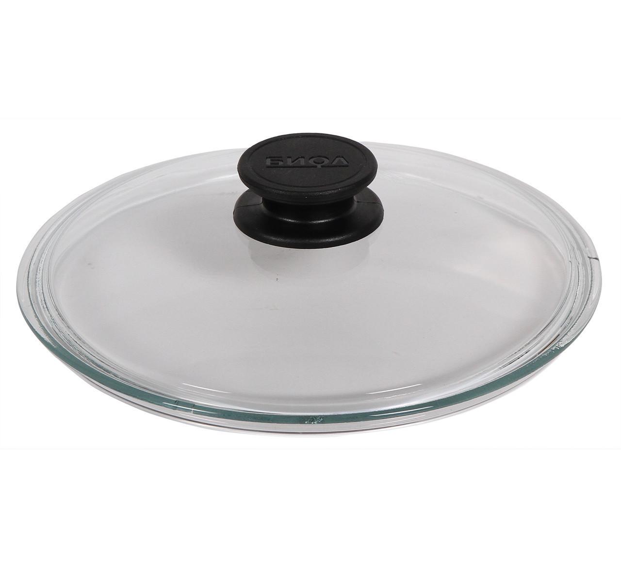 Крышка Биол стеклянная низкая НК300