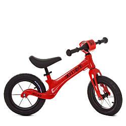 Беговел детский красный Profi Kids SMG1205A-1 велокат