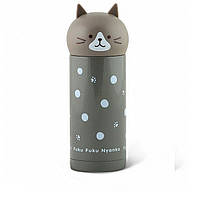 Термос детский Fissman котенок серый 250 мл VA-9689.250