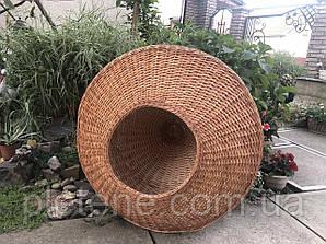 Абажур з лози висота 30 діаметр 100 см .