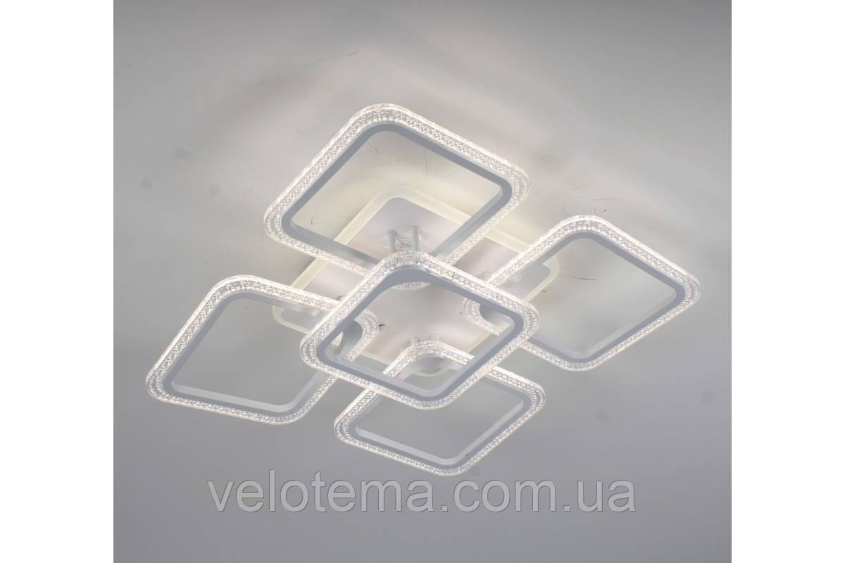 Люстра светодиодная прозрачный акрил смарт люстра