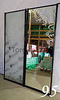 Міжкімнатні розсувні двері купе (гардеробні перегородки)