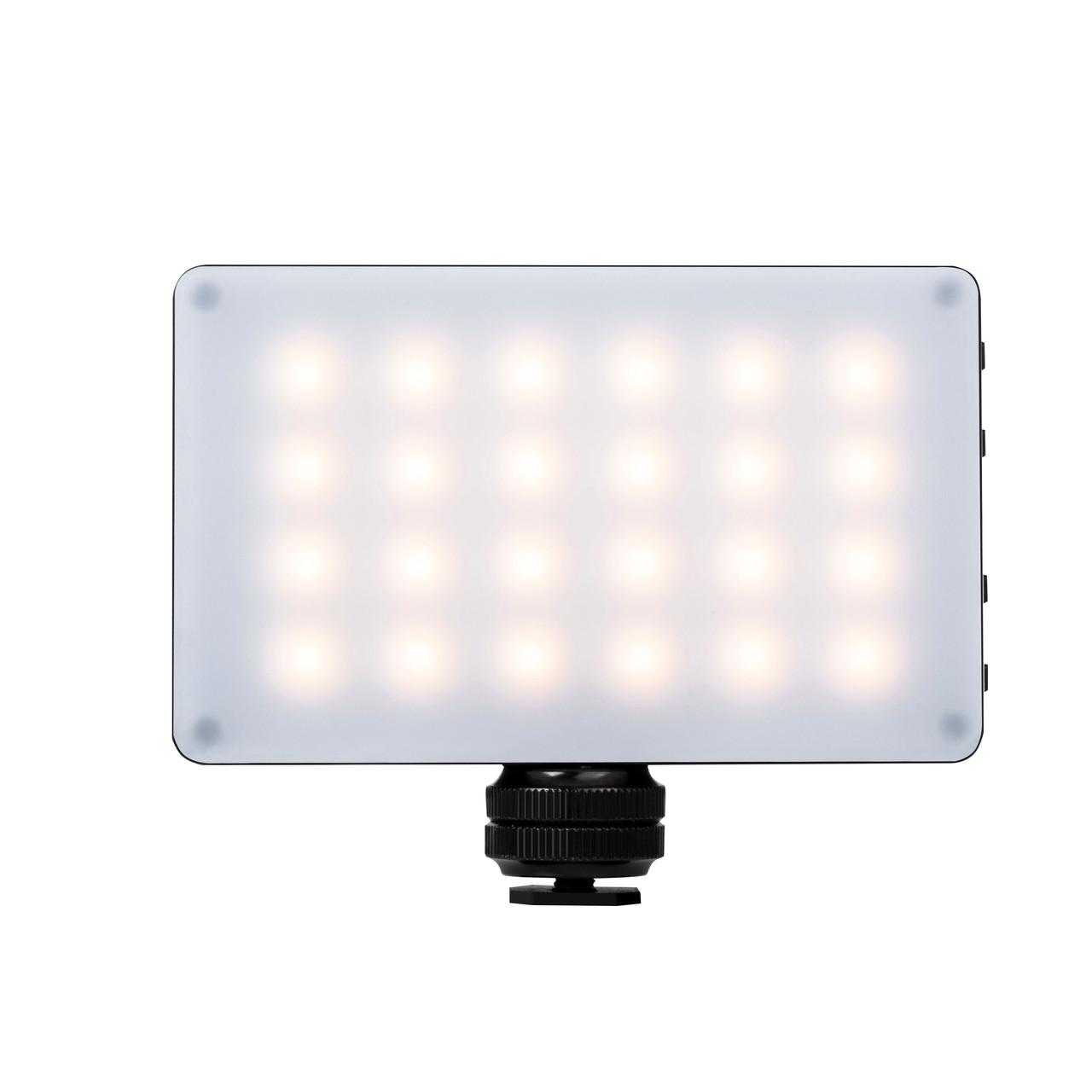 Ультратонкий, портативный  LED - осветитель, видео-свет Viltrox RB08 со встроенным аккумулятором