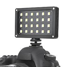 Ультратонкий, портативный  LED - осветитель, видео-свет Viltrox RB08 со встроенным аккумулятором, фото 2