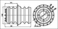 Изоляторы ИП-20/3150-12,5 УХЛ Т1, ИП-20/3150-20 УХЛ2, фото 1