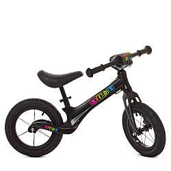 Беговел детский черный Profi Kids SMG1205A-2 велокат