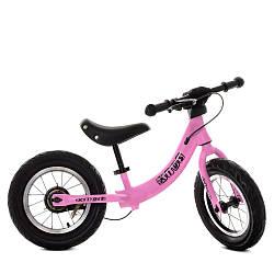 Беговел детский розовый Profi Kids М 5450A-4 велокат
