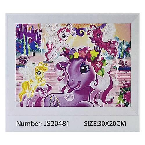 """Картина по номерам JS20481 20*30см """"DS""""L OPP (холст на раме с краск. кисти)"""
