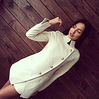 Пальто женское стильное короткое