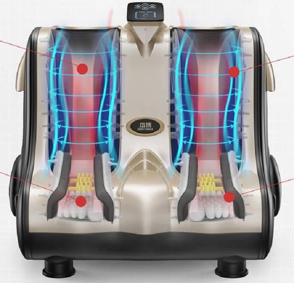 Массажер с миостимуляцией прогревающий массажер для спины