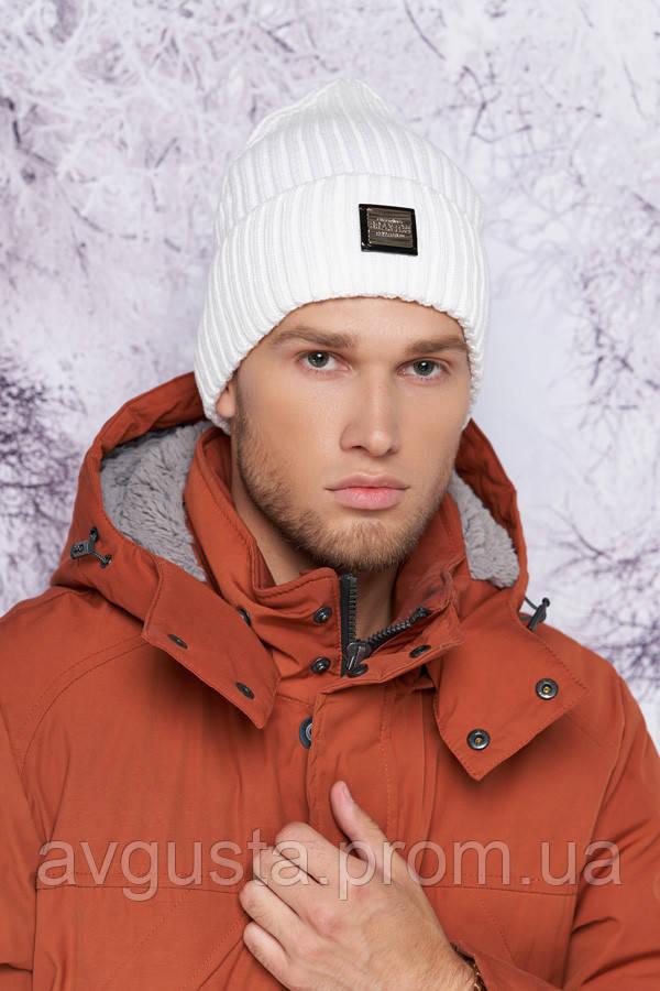 Мужская шапка «Камиль» (белый) Braxton