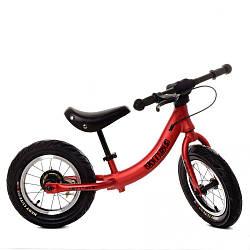 Беговел детский красный Profi Kids М 5450A-1 велокат