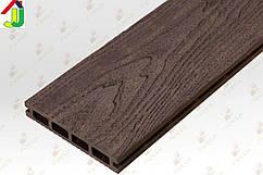 Террасная доска Porch Multi Coffee 3D 2200x146x23, композитная, дерево-полимерная доска, для террасы,веранды.
