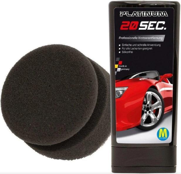 Паста для удаления царапин автомобиля Platinum 20 sec   Ликвидатор царапин для авто