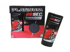 Паста для удаления царапин автомобиля Platinum 20 sec   Ликвидатор царапин для авто, фото 2