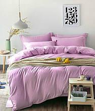 Комплект постельного белья Сатин Stripe PINK ROSE 1/1см