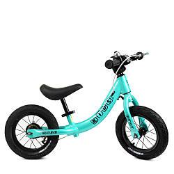 Беговел детский бирюзовый Profi Kids W1202-1 велокат
