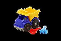 Машина 0169 Тотошка самосвал №1: машинка, лопатка и грабельки (ЛГ3)