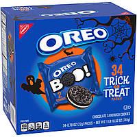 Печенье OREO BOO Chocolate Sandwich Halloween Cookies 34st 748g, фото 1