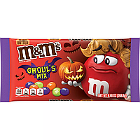 Драже M&M's Halloween Goul's Mix Peanut Butter 260.8g, фото 1