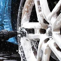 Вращающаяся Щетка-Насадка На Шланг Brush Hero для чистки авто,дома,сада, фото 2