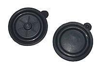 Мембрана до водяному редуктора для газової колонки Termet D=65mm (чорна,1 виступ (вушко))