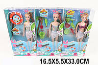 Кукла типа Барби JX100-71 91574399) (48шт/2) 3 вида, в купальнике, с пляжн.аксесс