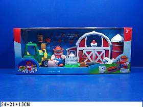 Игровой набор Юнный фермер349 (12шт) в коробке 54*21*13 см.