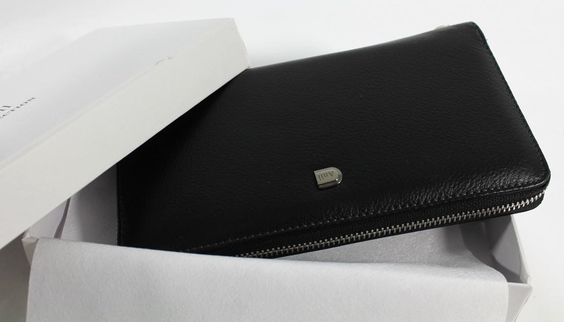 """Практичный и качественный кожаный клатч """"YR 711-А"""""""