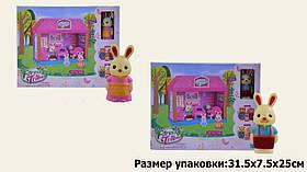 Игровой набор лесные жители 60234 (36шт) гостинная,2 вида, фигурка, акссес в коробке 31,5**7,5*25 см