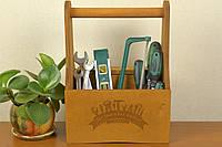 Ящик из дерева для хранения инструментов