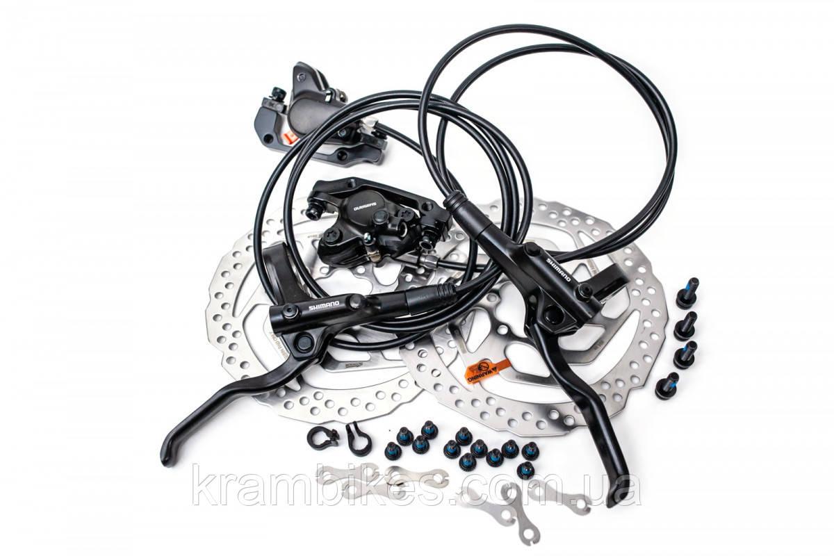 Тормоз Disc Shimano - BR-MT200 Передний+Задний Чёрный (ротора Tektro)