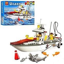 """Конструктор BELA Urban """"Рибальський катер"""" 160 деталей"""