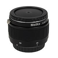 Автоматические макрокольца для Canon Meikе Extension Tube Ste DG 46мм - 68мм