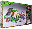 """Конструктор майнкрафт  BELA Minecraft """"Голем на ферме"""" 219 деталей , фото 3"""