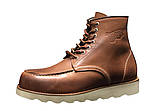 Мужские зимние ботинки Red Wing Shoes с мехом ботинки ред винг зимові черевики Red Wing Classic ботінки зимові, фото 7