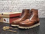 Мужские зимние ботинки Red Wing Shoes с мехом ботинки ред винг зимові черевики Red Wing Classic ботінки зимові, фото 6
