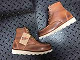 Мужские зимние ботинки Red Wing Shoes с мехом ботинки ред винг зимові черевики Red Wing Classic ботінки зимові, фото 8