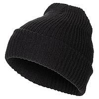 Вязаная шапка крупной вязки MFH черного цвета