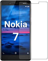 Защитное стекло Nokia 7 (Прозрачное 2.5 D 9H) (Нокиа 7)