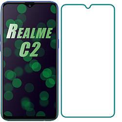 Защитное стекло Realme C2 (2020) (Прозрачное 2.5 D 9H) (Реалми С2)