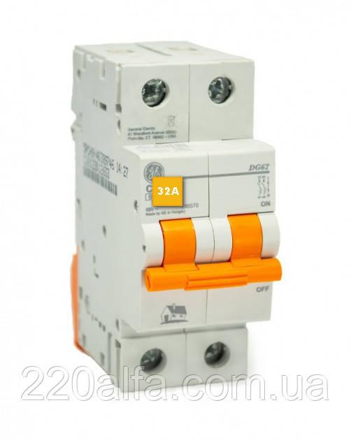 Автоматический выключатель General Electric DG 62 C32 6kA
