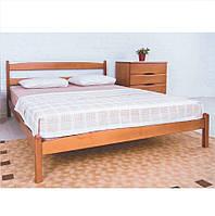 """Ліжко Ліка без ізніжжя, дерев'яне 80х200 """"Олімп"""""""
