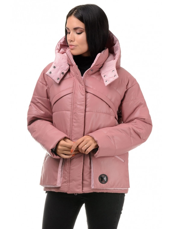 Куртка демисезонная (роза-пудра)