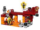 """Конструктор майнкрафт BELA Minecraft """"Мост ифрита"""" 378 деталей , фото 3"""