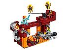 """Конструктор майнкрафт BELA Minecraft """"Мост ифрита"""" 378 деталей , фото 4"""