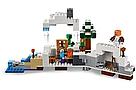 """Конструктор майнкрафт BELA Minecraft """"Снежное убежище"""" 327 деталей , фото 2"""