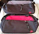 Спортивные дорожные сумки (АССОРТИ)25х44см, фото 4